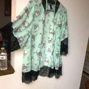 Hot Topic MINT kimono/cardigan.
